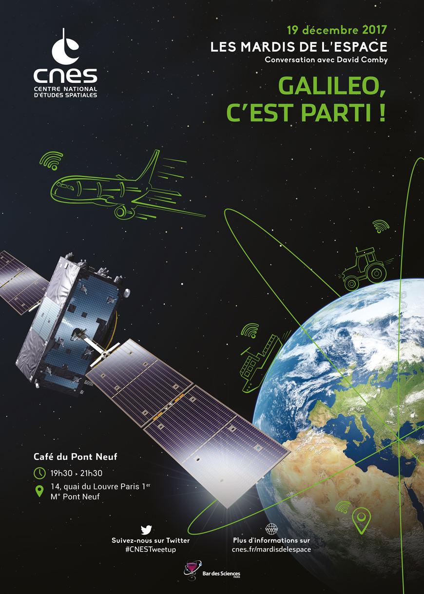 «Galileo, c'est parti!» le 19 décembre à Paris
