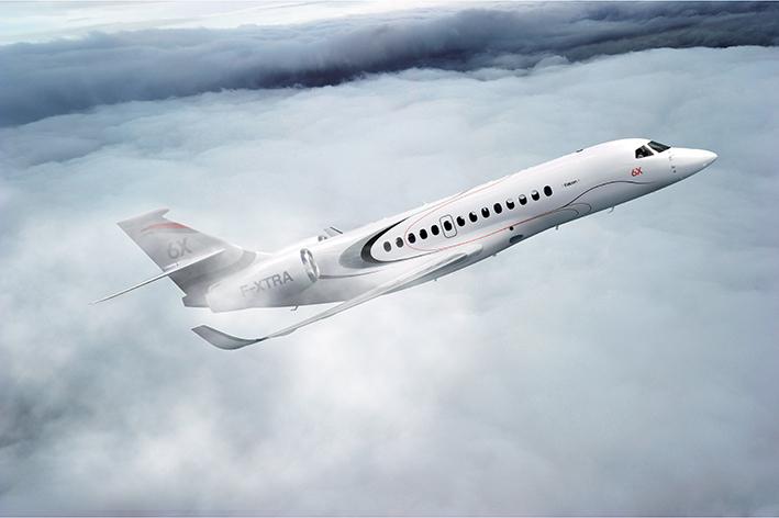 Dassault Aviation passe au Falcon 6X