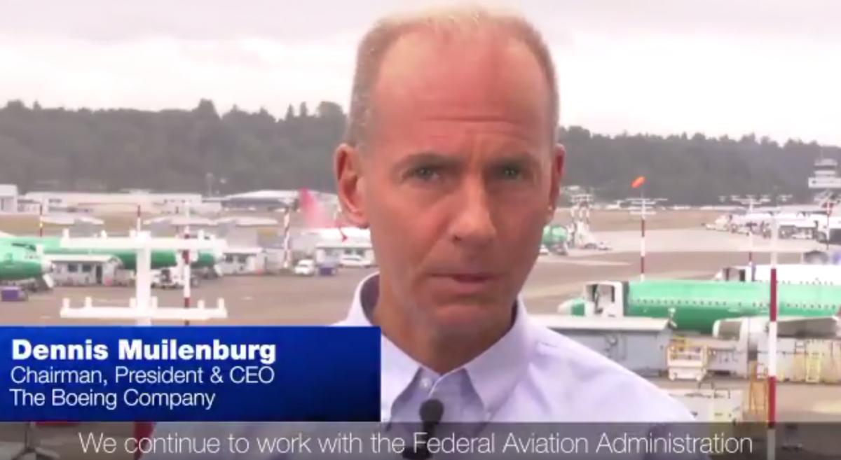 Boeing 737 MAX : Boeing prendra le temps nécessaire pour le retour en vol (Dennis Muilenburg)