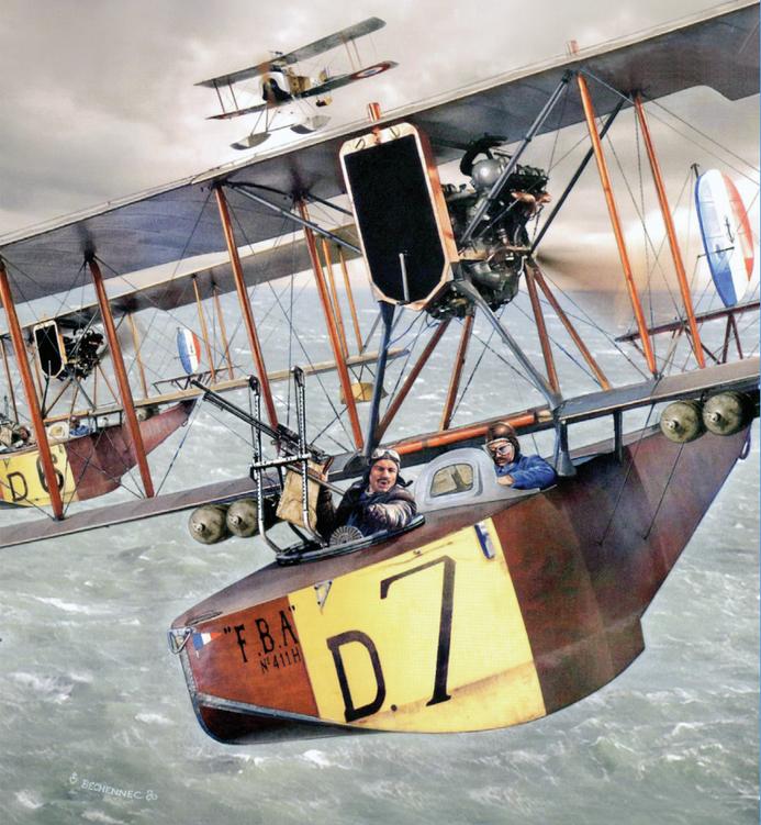 1917, les aéronautiques maritimes alliées en France