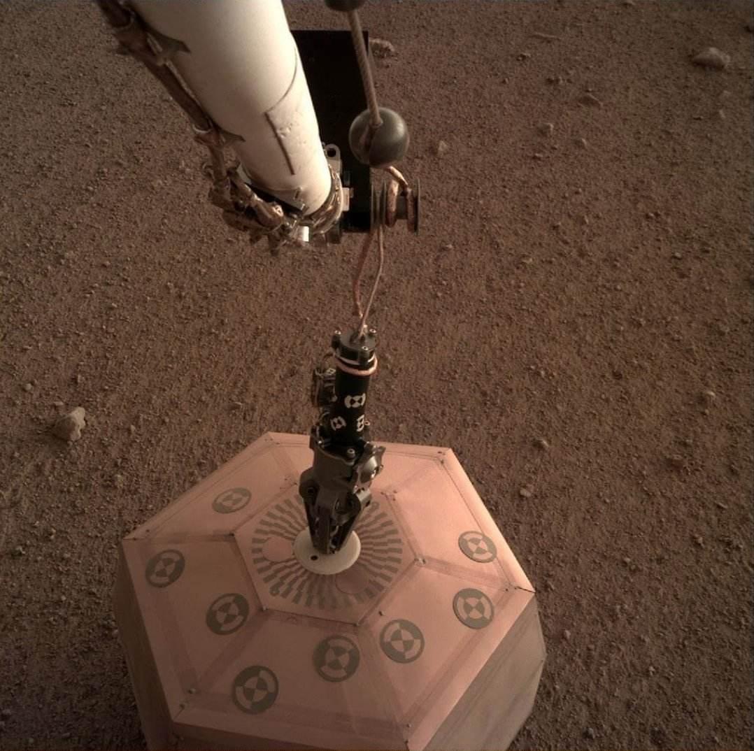 Le sismomètre français Seis déployé sur Mars
