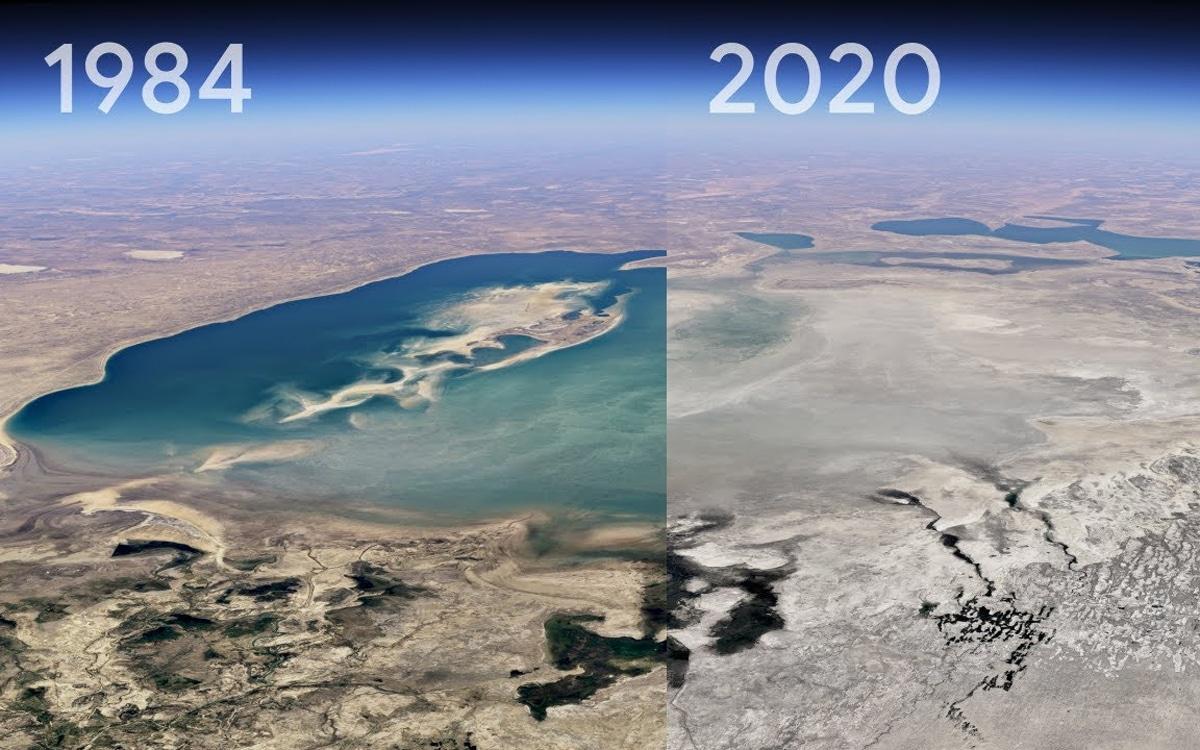 Google Earth remonte le temps