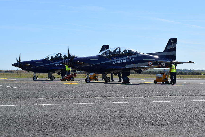 French AF receives first PC-21s