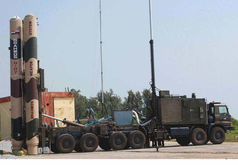 India tests Brahmos missile