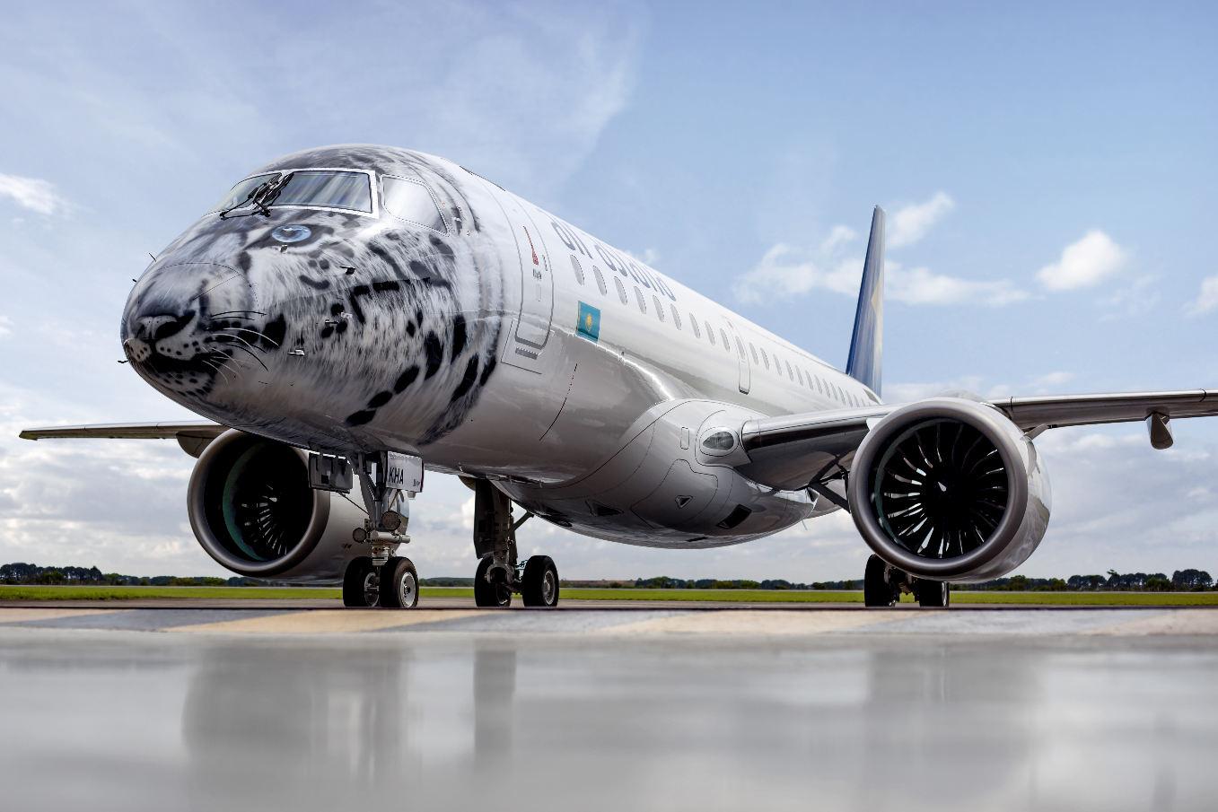 "MRO : Air Astana et Embraer étendent leur ""pool program"" à l'E190-E2"