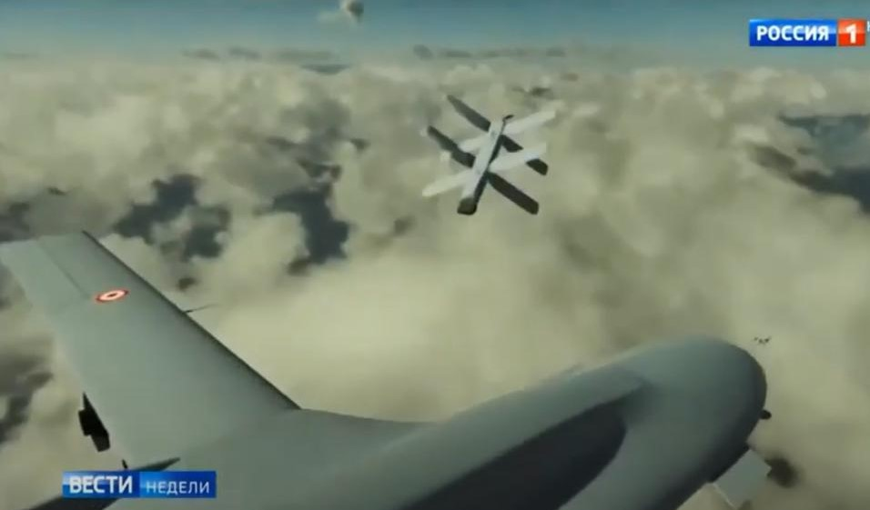 Russie: Les mines anti-drones