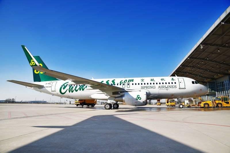 Spring Airlines alignera 100 Airbus A320 en 2018