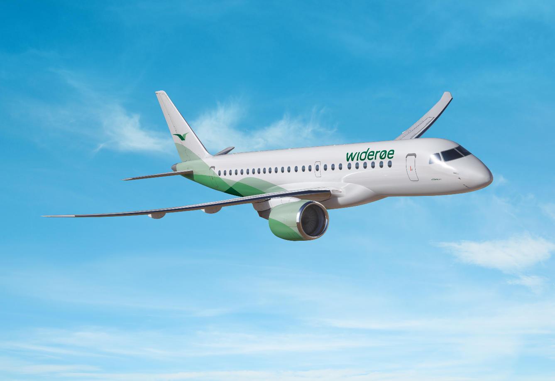 Wideroe sera la première à étrenner l'Embraer E190-E2