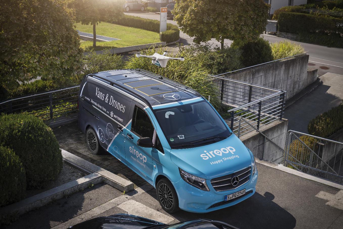 Le projet de livraison Mercedes