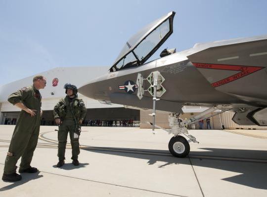 Lisi Aerospace sur l'avion de combat F-35