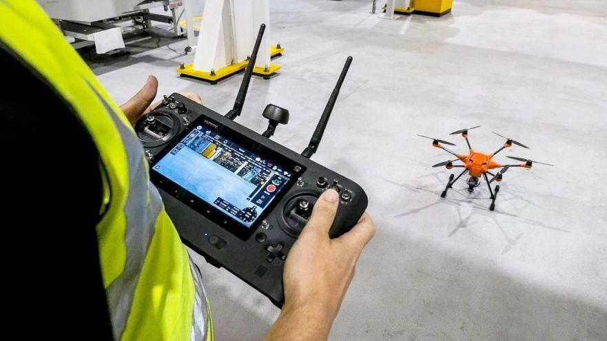 Ford utilise des drones pour l'inspection