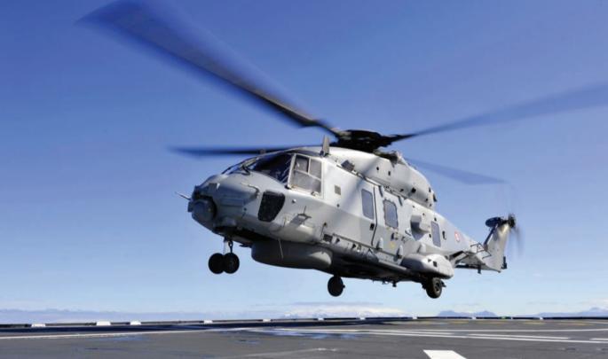 La Marine reçoit son 18ème Caiman