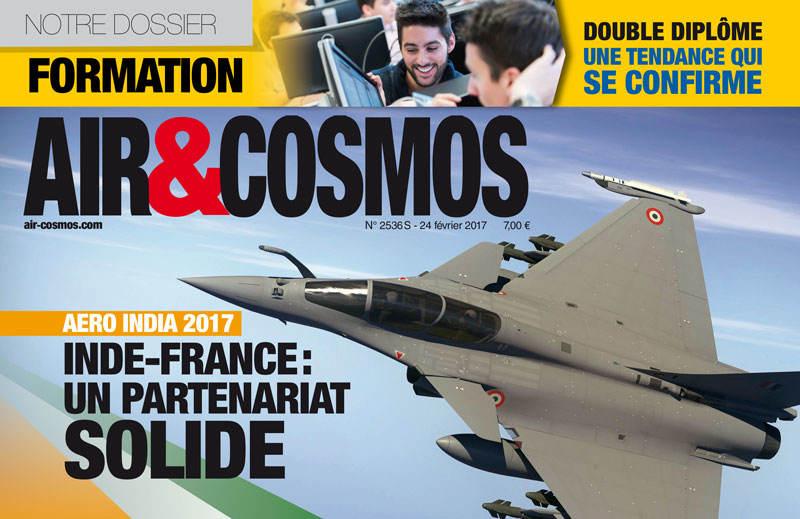 Aero India, résultats d'Airbus, dossier Emploi&Formation : ce vendredi dans Air&Cosmos.