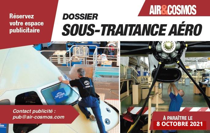 """Dossier """"Rester et devenir fournisseur d'Airbus"""" à paraître le 8 octobre 2021 dans Air&Cosmos"""