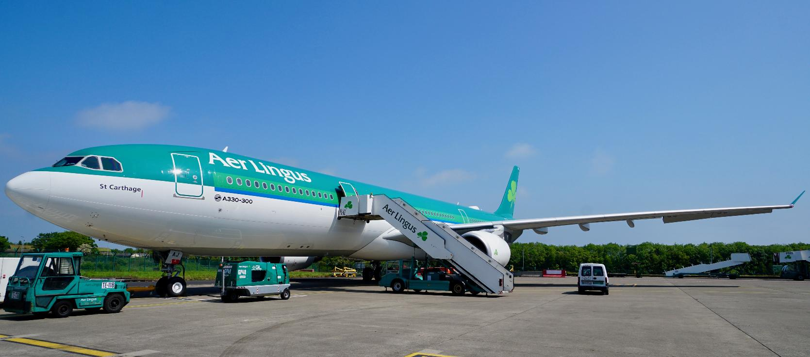 Aer Lingus accueille son nouvel Airbus A330-300
