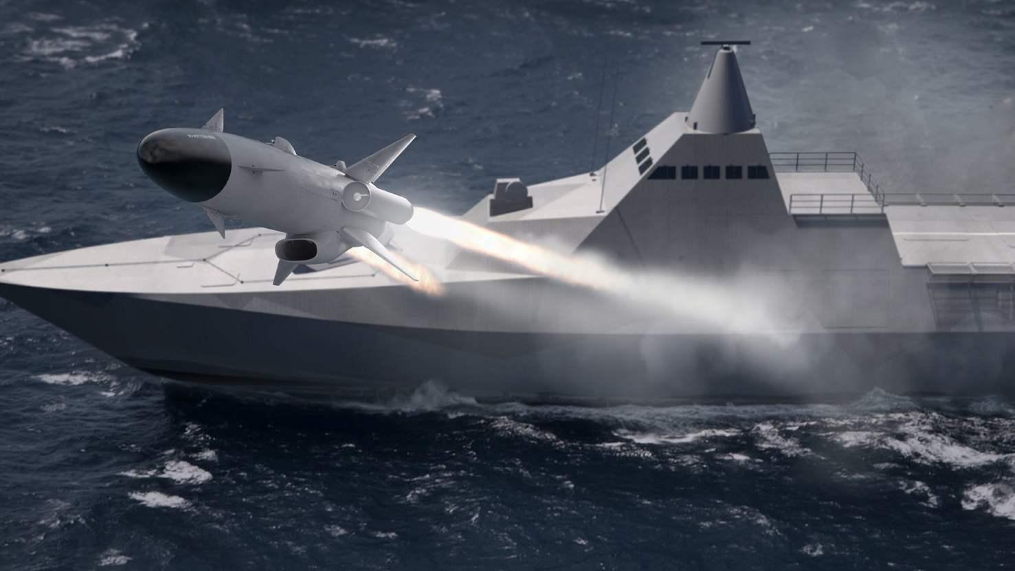Saab va développer un nouveau missile anti navires
