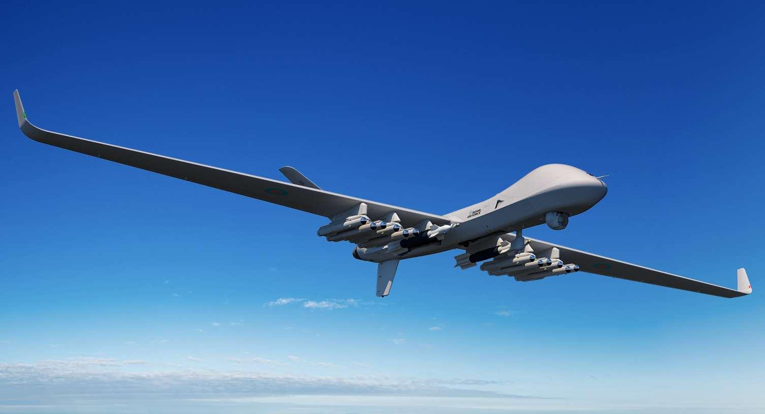 Intégration du missile Brimstone de MBDA sur le drone Protector