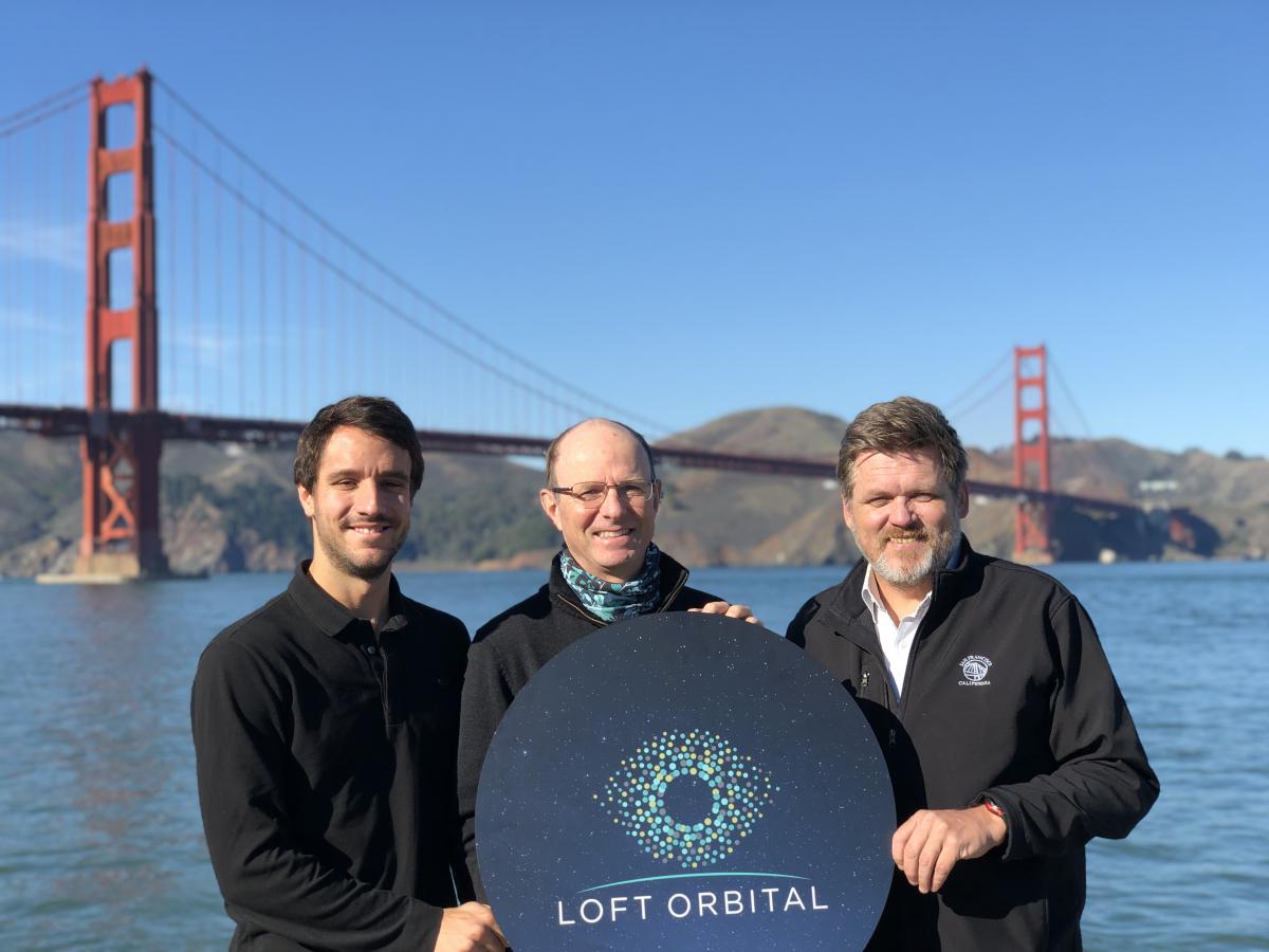 Trois questions à Pierre Bertrand, chef du développement chez LoftOrbital