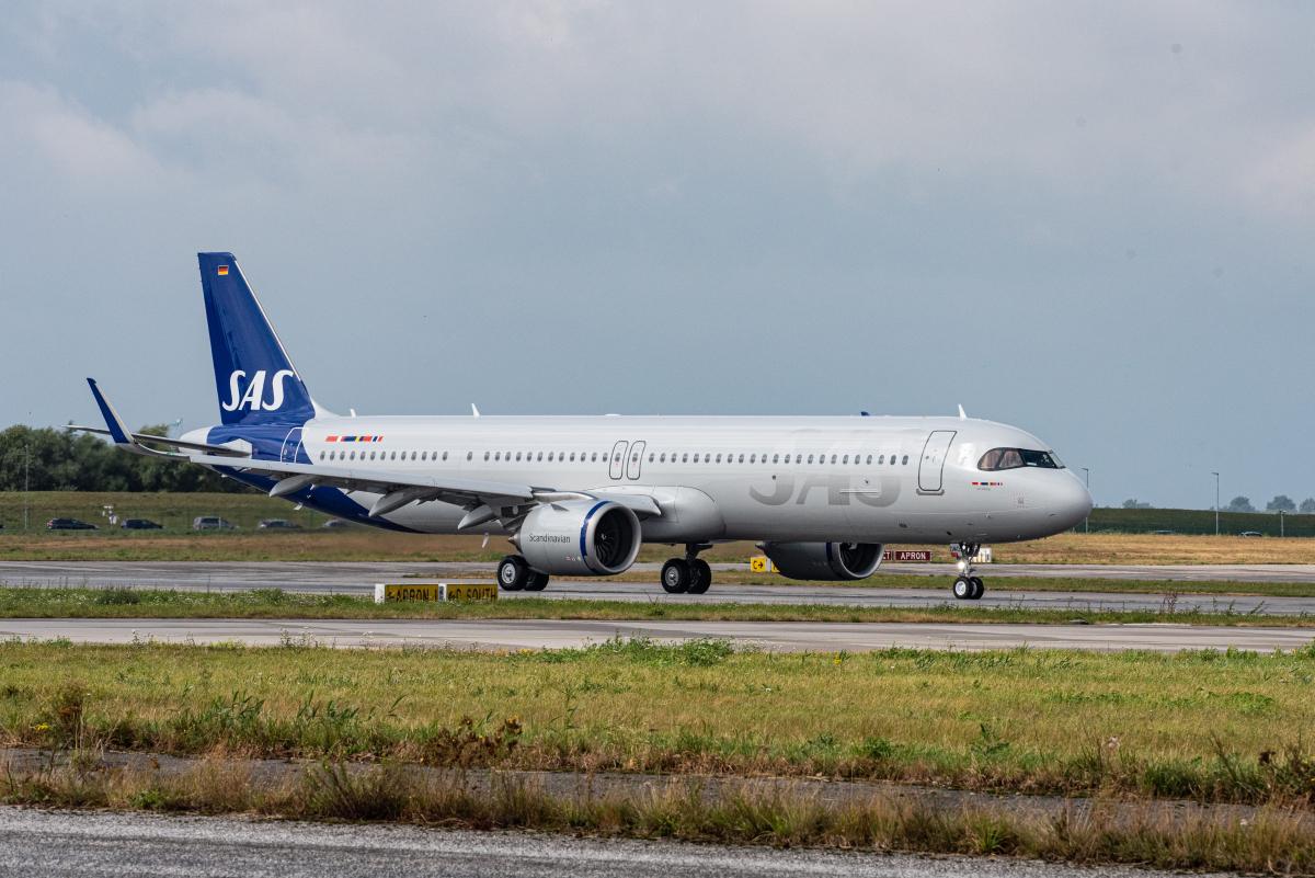 SAS réceptionne son premier Airbus A321LR