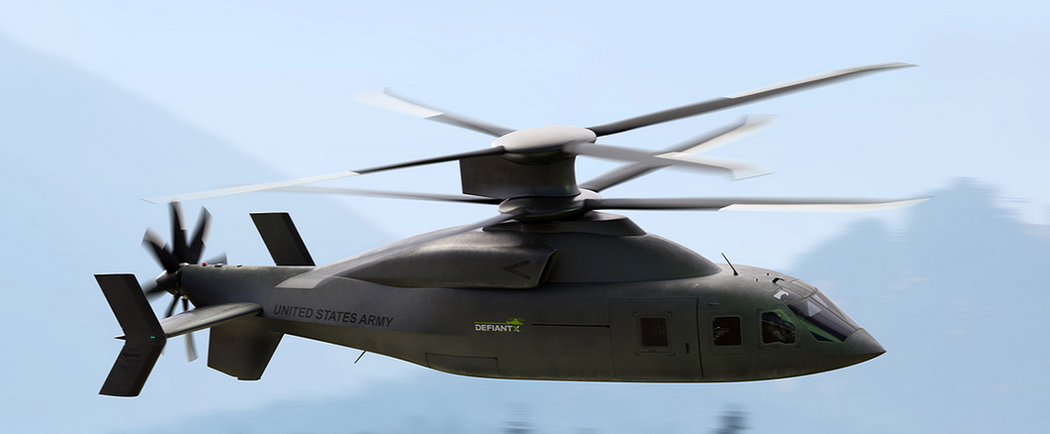 Sikorsky-Boeing dévoile le Defiant X pour le programme FLRAA