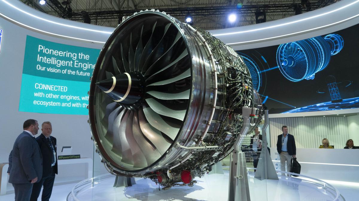 Dubai Airshow 2019 : Rolls-Royce Trent XWB pour les 50 Airbus A350-900 commandés par Emirates