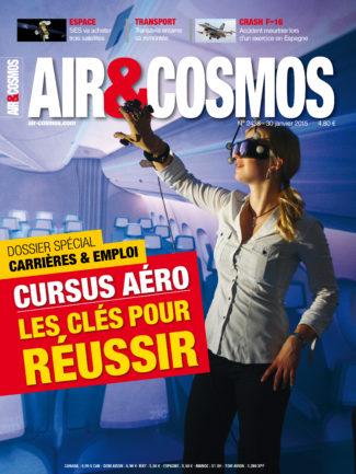 Archives numériques : emploi et formation, les défis d'ATR, SES passe en tête, dans Air&Cosmos 2438 du 30 janvier 2015