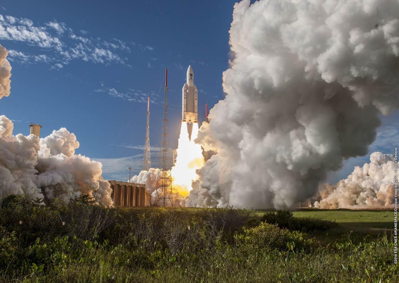 Ariane 5 ES tire sa révérence en beauté