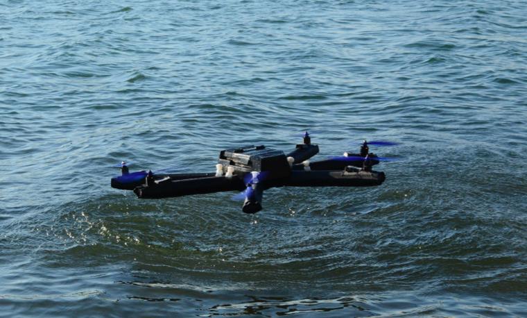 SOFINS 2017 : Diodon présente un drone gonflable