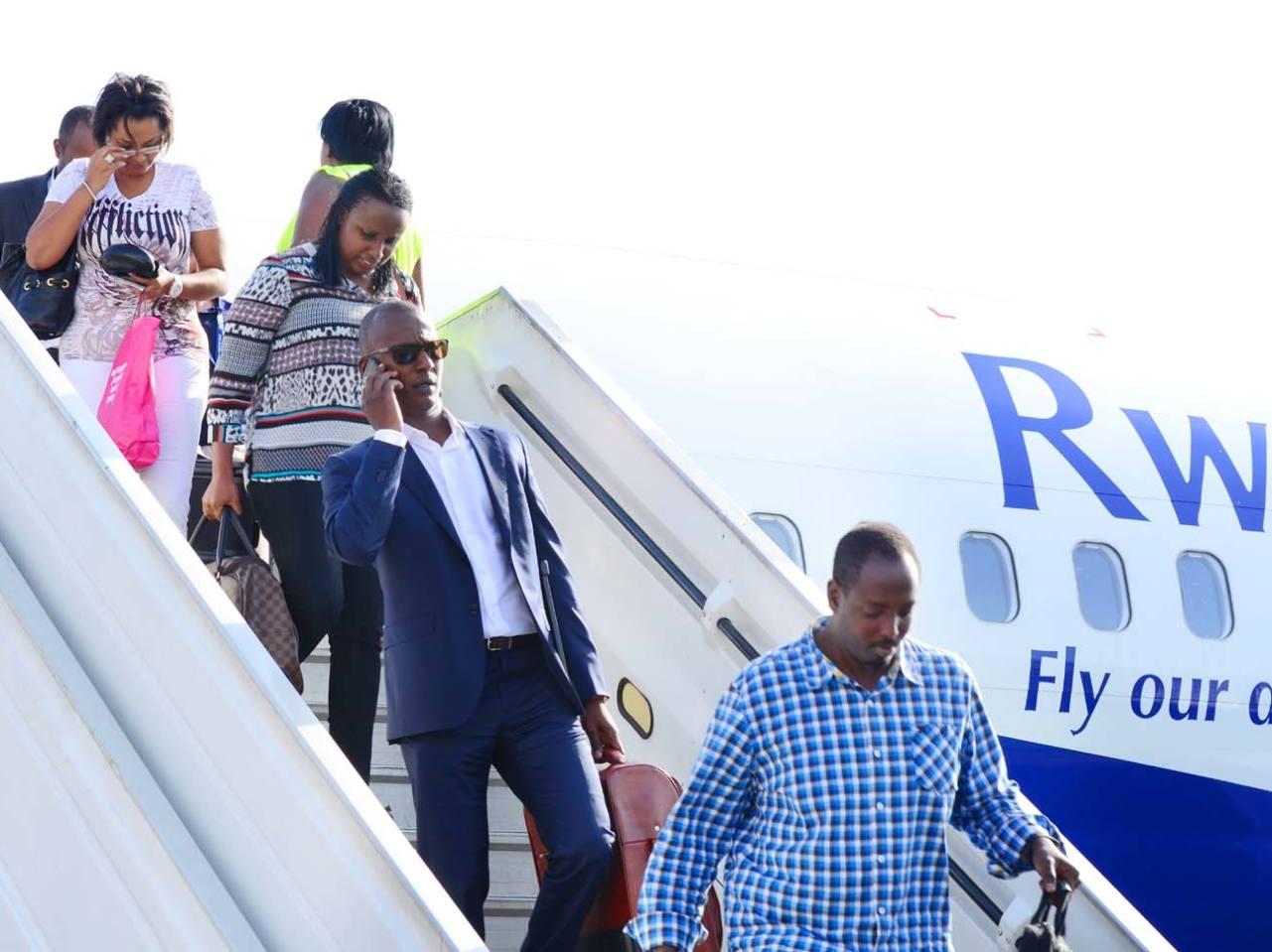 RwandAir vise le million de passagers en 2017