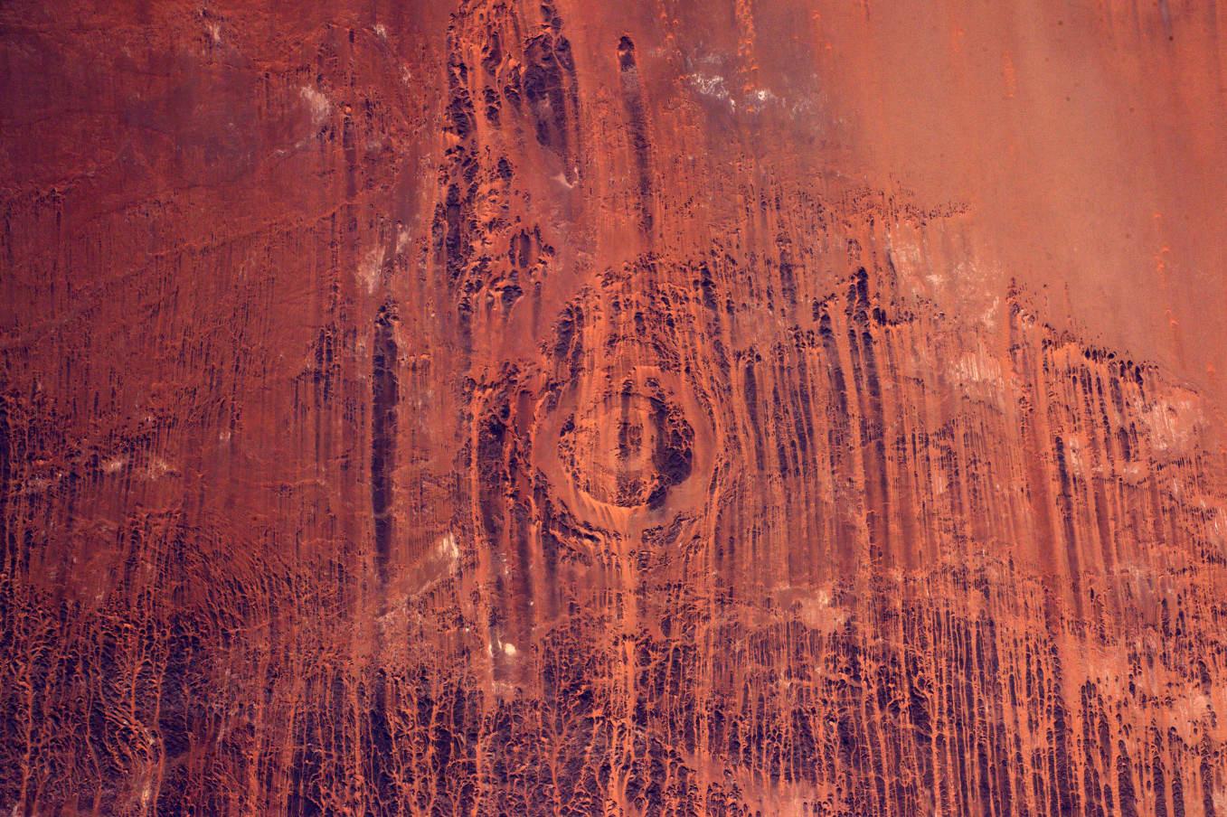 La Terre dans l'oeil de Thomas Pesquet #30 : l'astroblème d'Aorounga