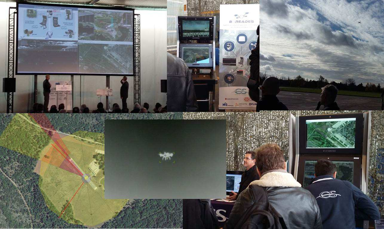 CS protège les forces armées contre les drones