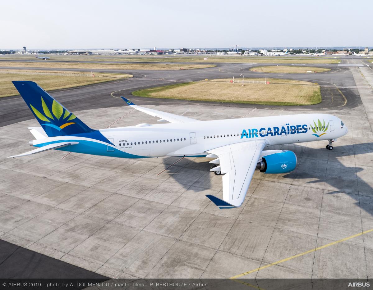 Air Caraïbes reçoit son troisième Airbus A350-900
