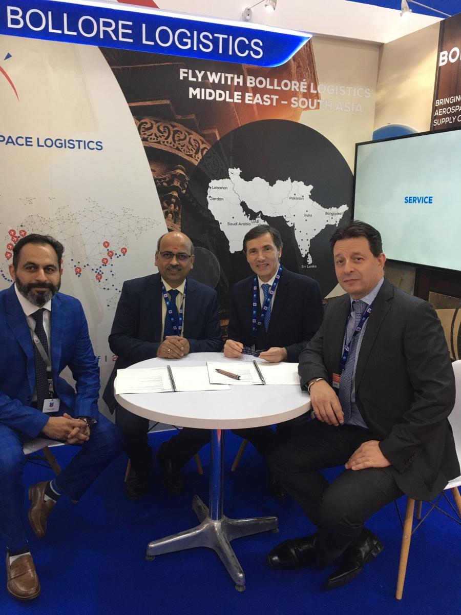 Dubai Airshow 2019 : Bolloré Logistics sur les moteurs CFM vers l'Inde
