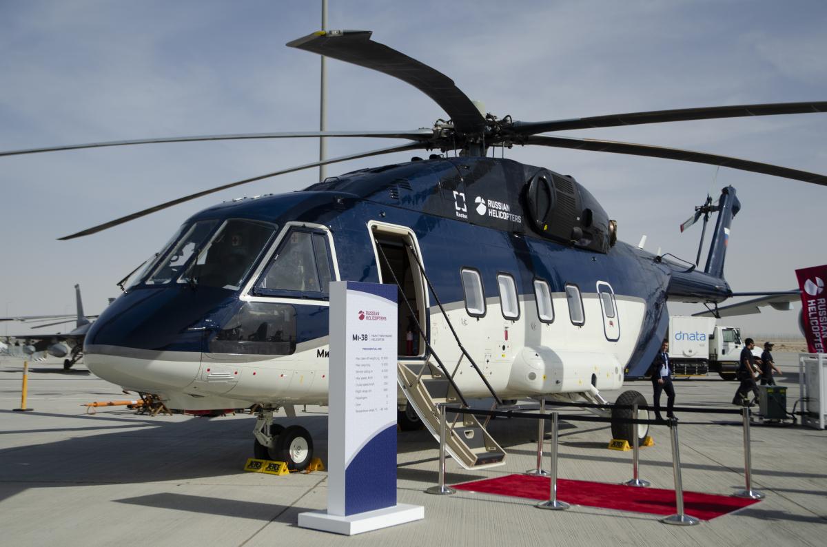 Russian Helicopters livre son premier Mi-38 de série
