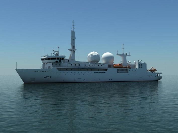 Renseignement: Nouvelle mission pour le navire d'écoute français «Dupuy-de-Lôme»
