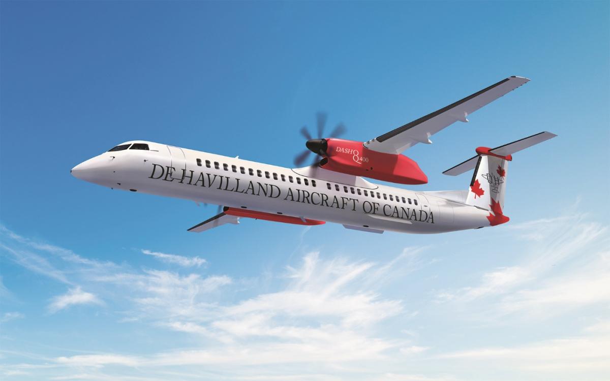 Dubai Airshow 2019 : De Havilland Canada présentera un Dash 8-Q400 de Jambojet
