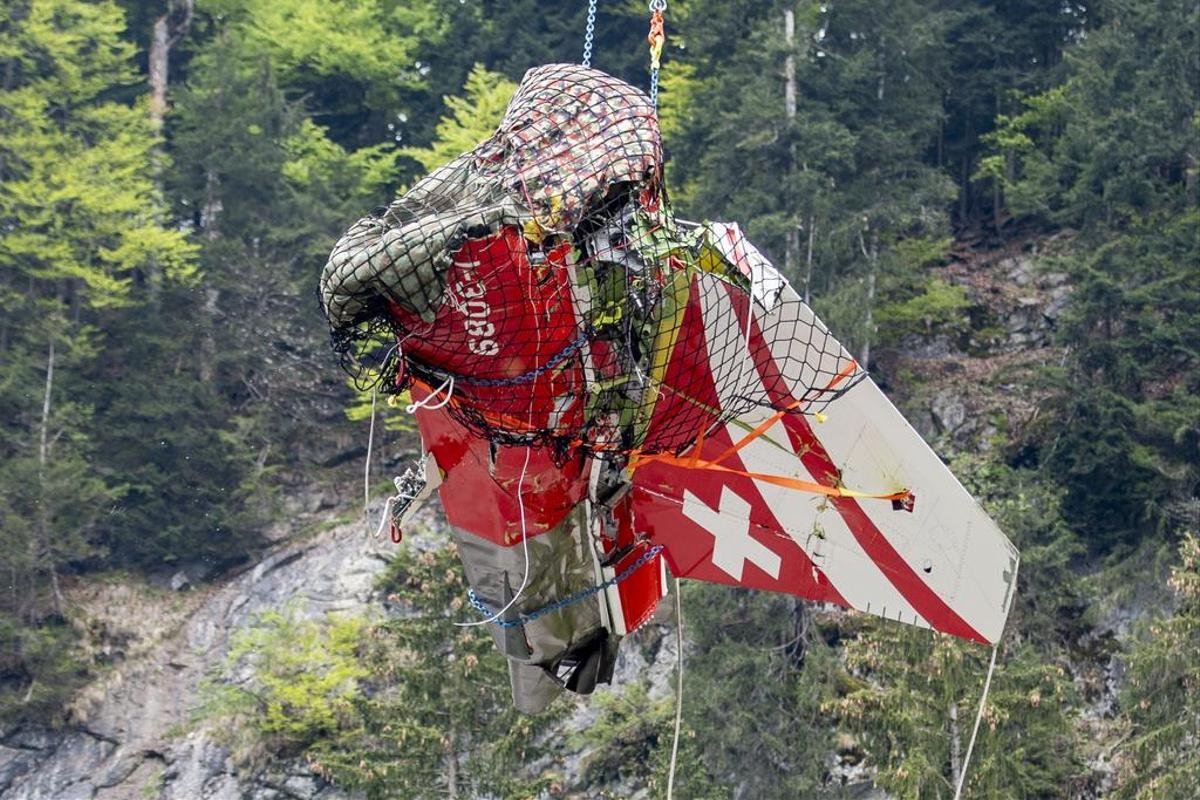 Suisse: Crash aérien