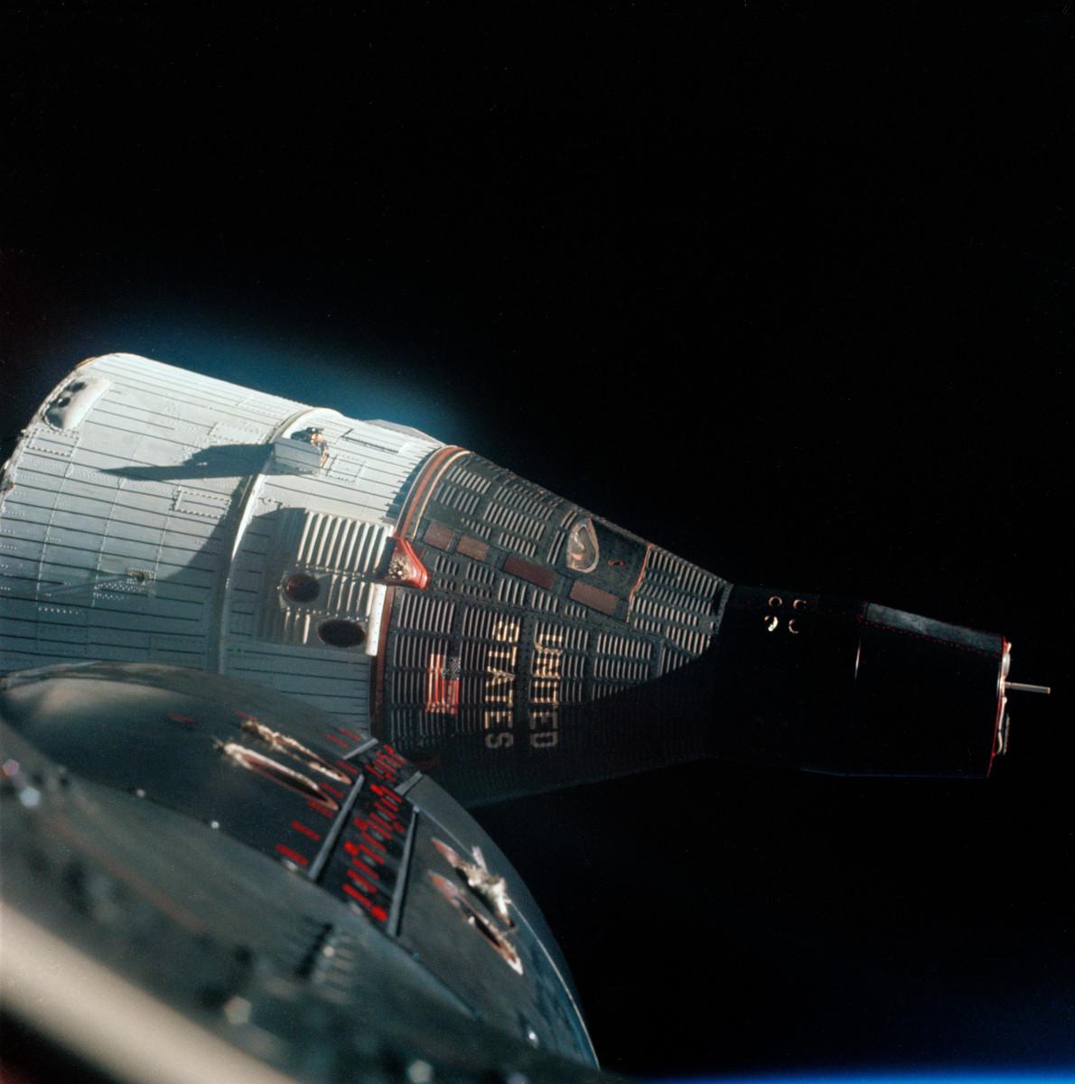 Il y a 55 ans, les Américains procédaient au premier rendez-vous spatial