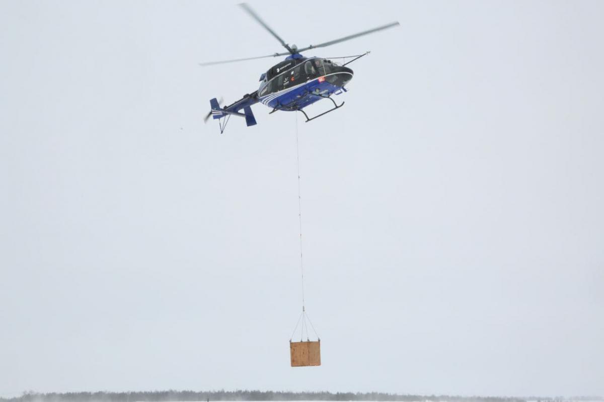 Russian Helicopters équipe l'Ansat d'une élingue externe