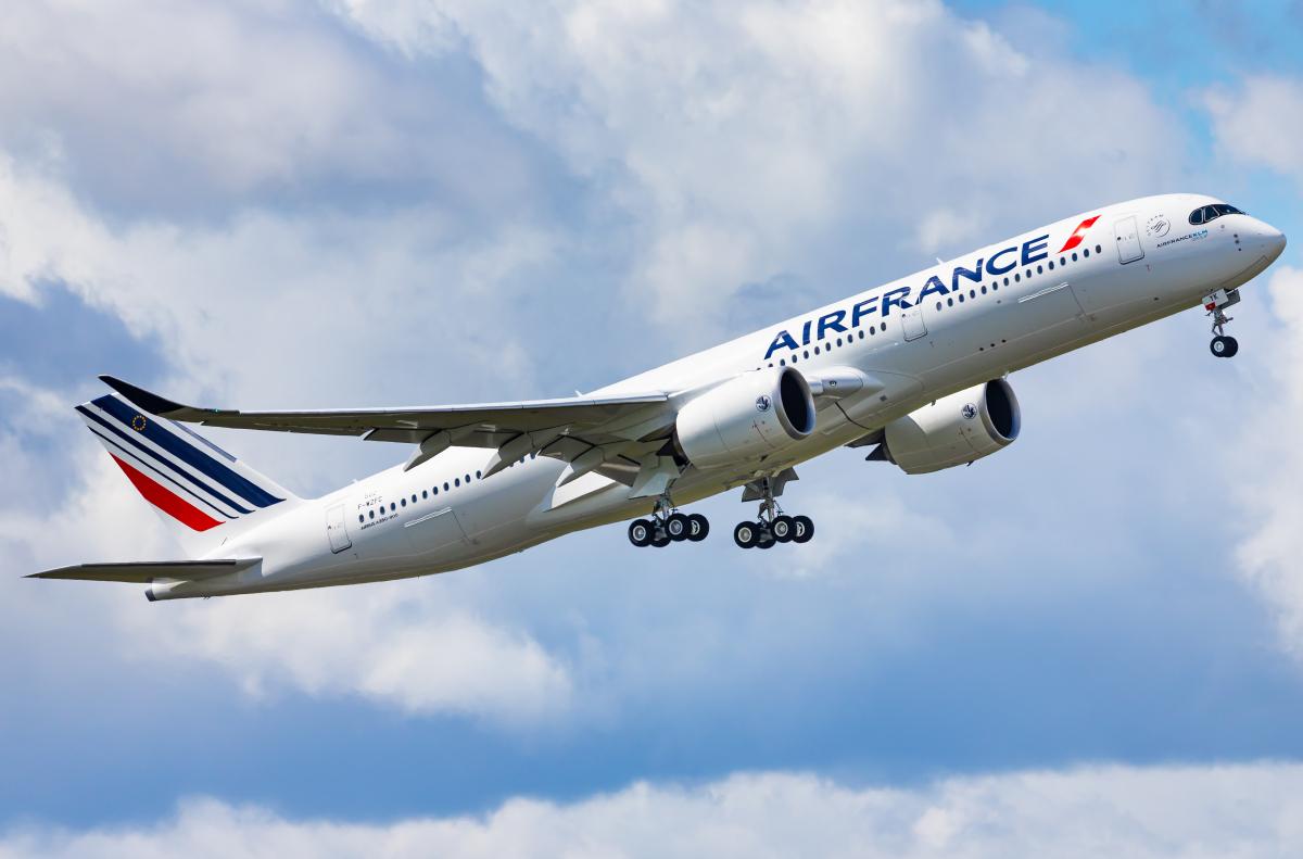 Air France a pris livraison de son dixième Airbus A350-900