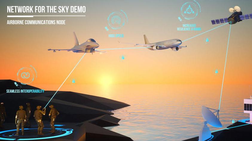 Bourget 2019 : Airbus teste le système NFTS en grandeur nature