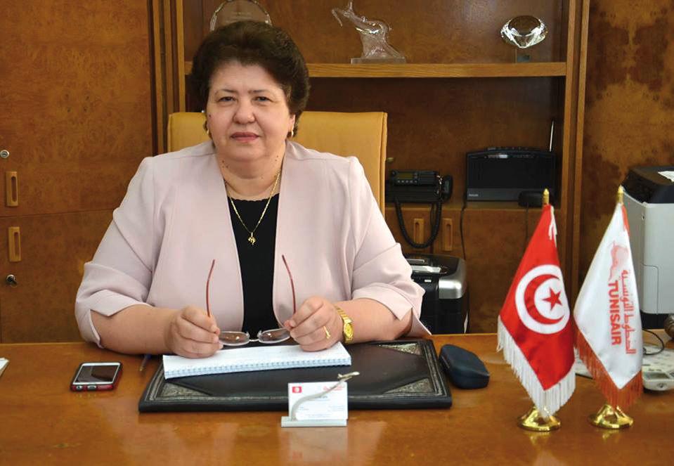 Exclusif : interview de la présidente de Tunisair, Sarra Rejeb