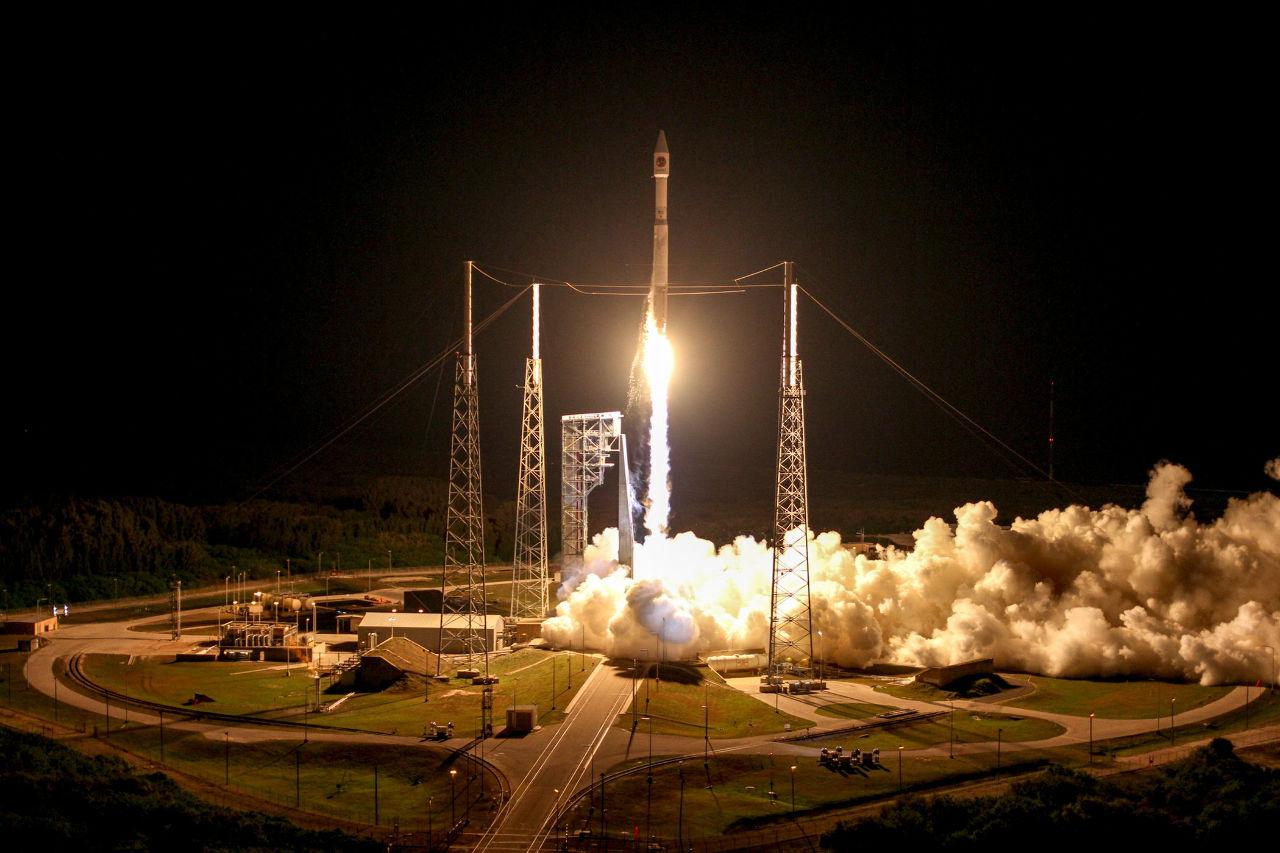 Cygnus en route vers l'ISS
