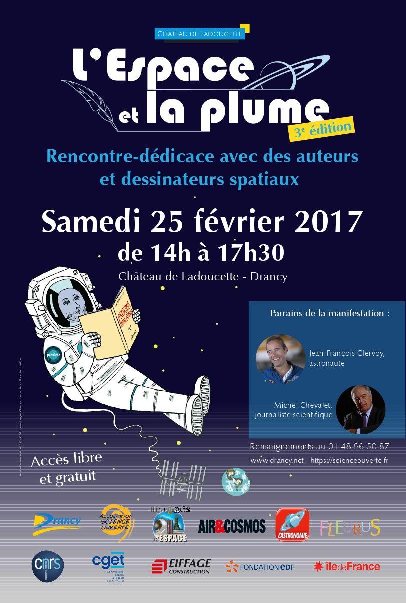 Quatorze auteurs et illustrateurs « spatiaux » à Drancy le 25 février