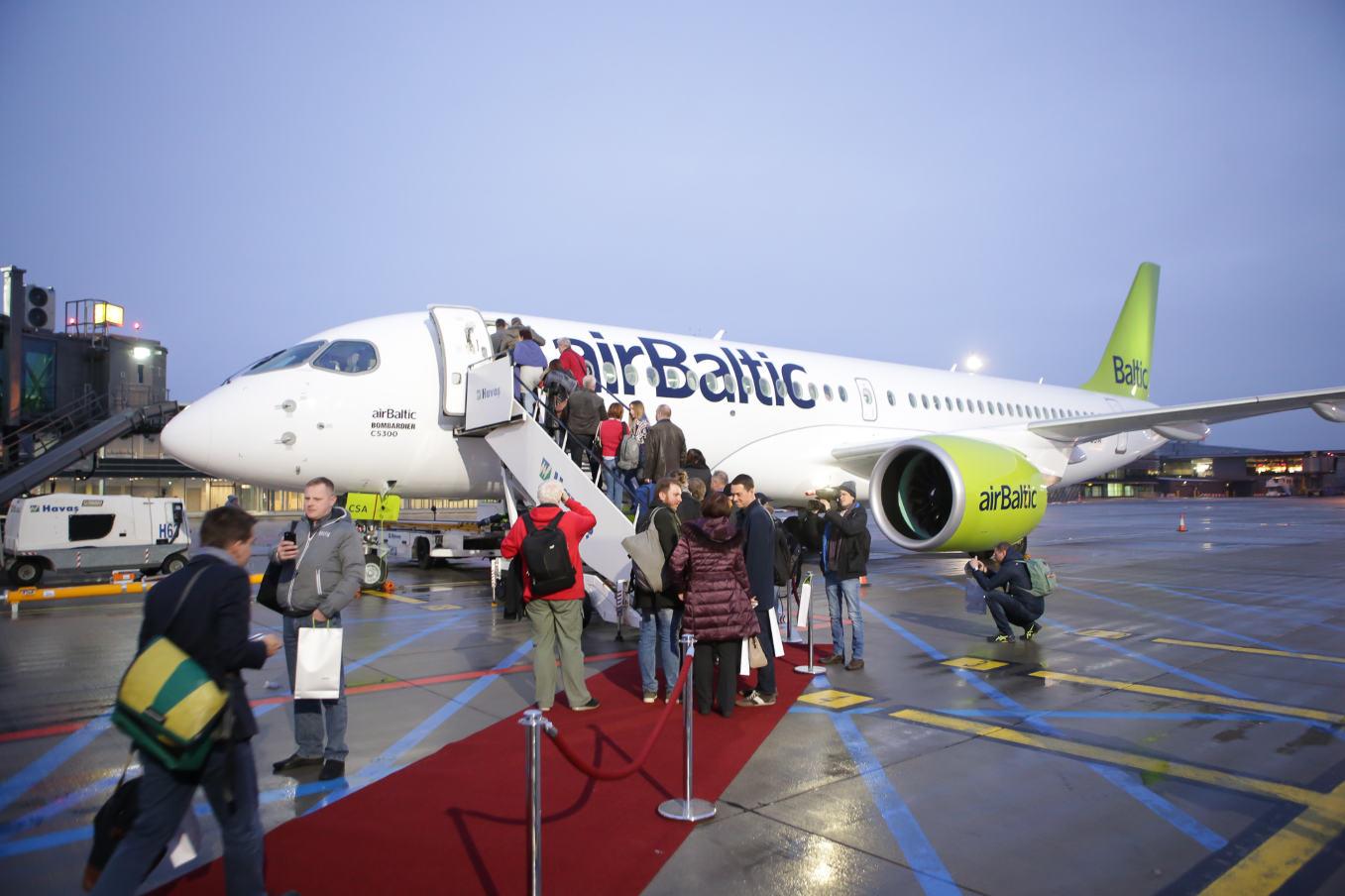 airBaltic met en service son Bombardier CS300