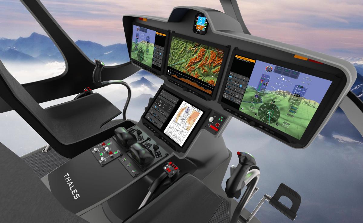 Bourget 2019 : Airbus Helicopters et la DGA sélectionnent la suite avionique FlytX de Thales pour leurs hélicoptères de dernière génération