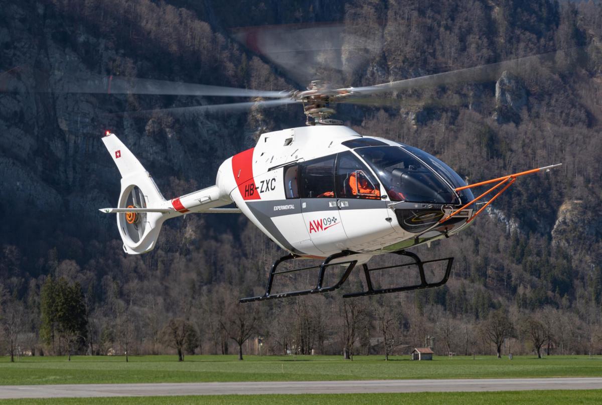Du Kopter SH09 au Leonardo AW09
