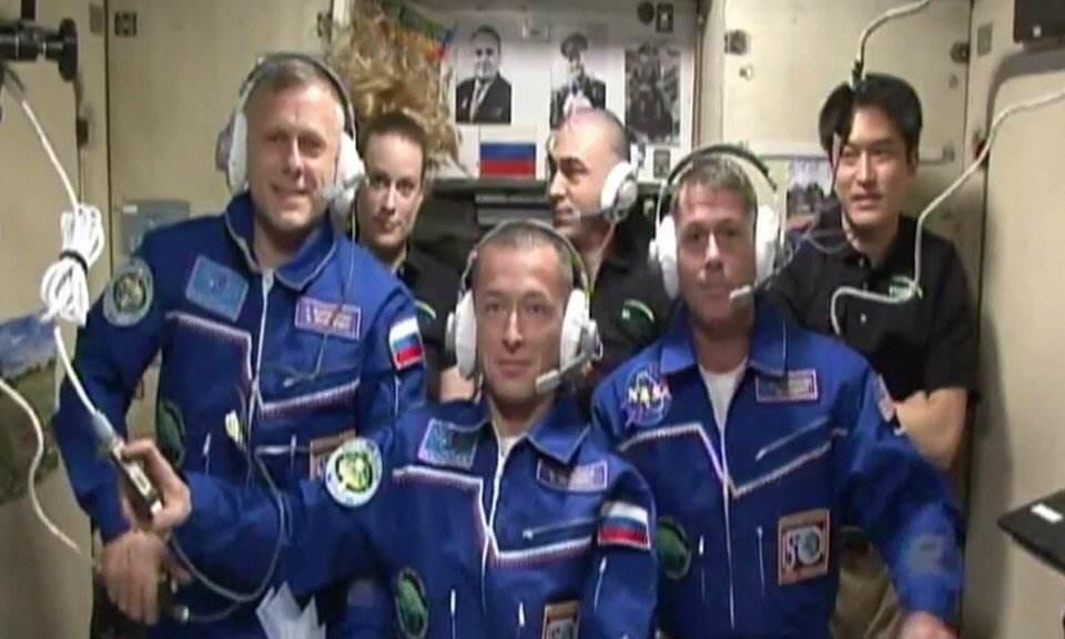 Amarrage réussi du Soyouz-MS 02 à l'ISS