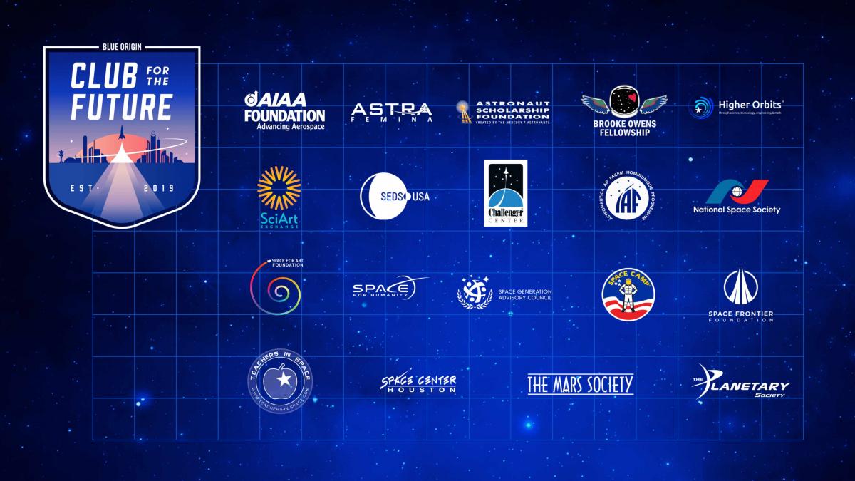 Jeff Bezos et Club for the Future offrent 219 M$ à l'éducation à l'espace