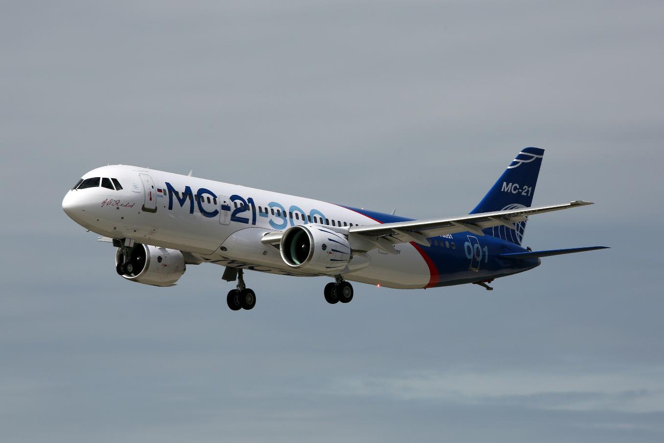 Le moyen-courrier russe Irkout MC-21 a réalisé son premier vol